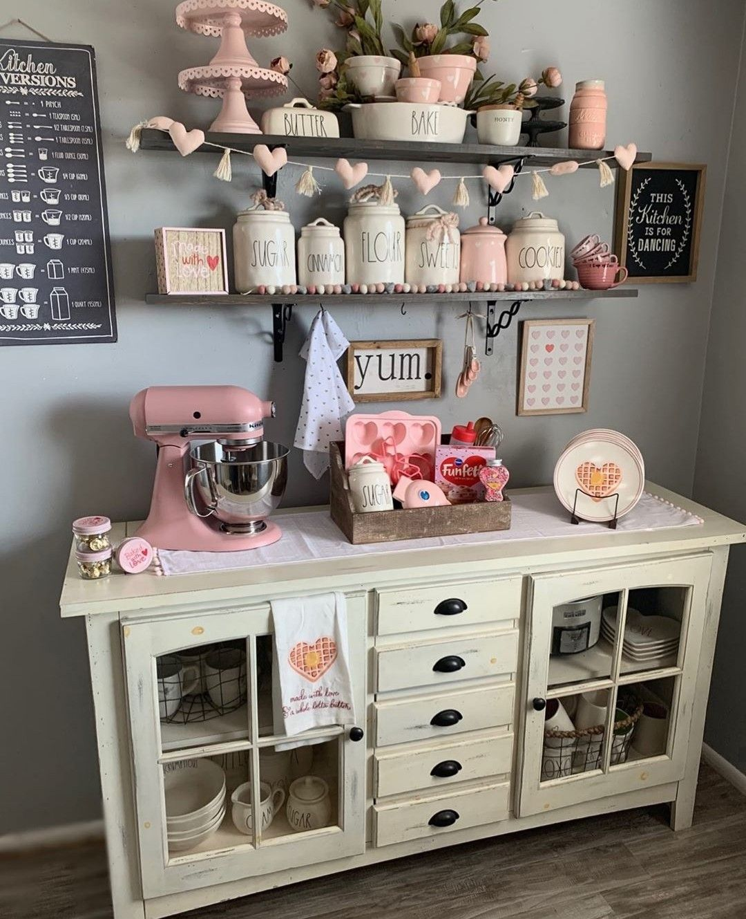 Pin By Laura Watts On Rae Dunn Inspo In 2020 Baking Station Home Decor Store Dining Decor