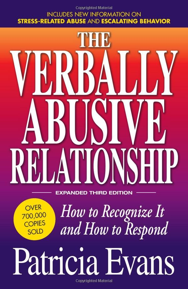 The Verbally Abusive Relationship: How to recognize it and how to respond: Disclosure: Affiliate link