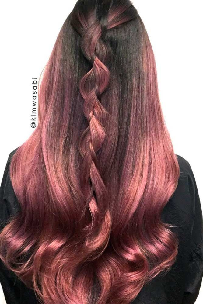 18 Rose Gold Hair Color Trends Hair And Makeup Pinterest Gold