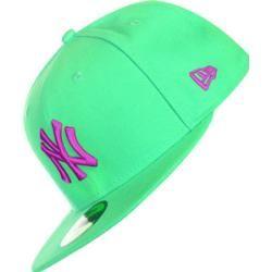 New Era Mlb Contrast Ny Yankees gorra verde violeta  aa9e7cd0232