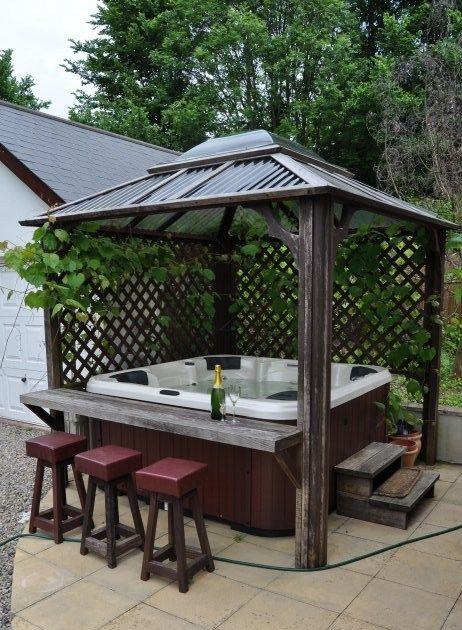 Best Backyard Pavilions Ideas To Try In 2019 #hottubdeck
