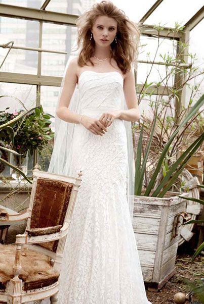 Американские свадебные платья с длинной юбкой в пол