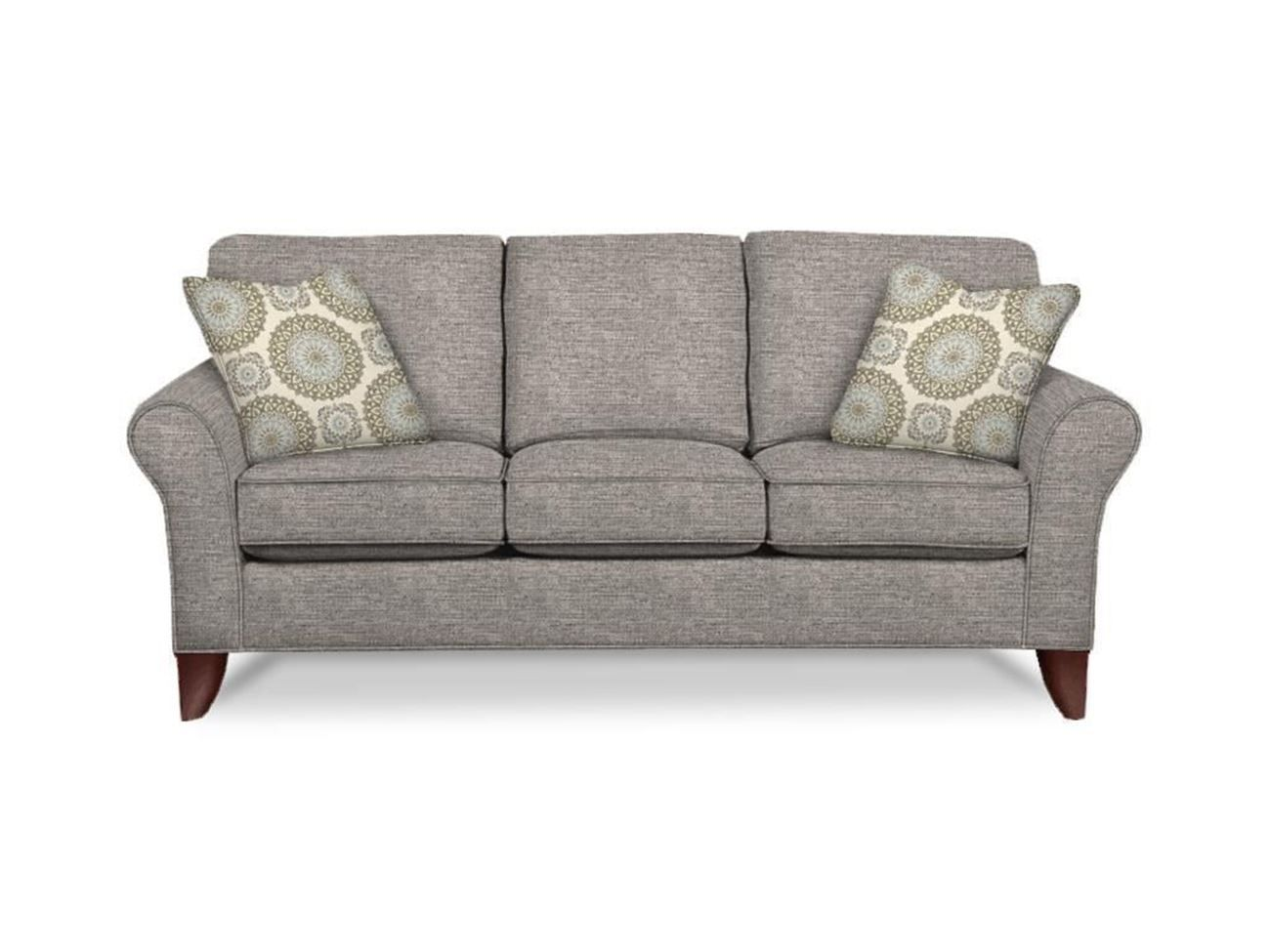 Shop The Sophisticated Townhouse Sofa By Craftmaster Also Available Are The Matching Loveseat Chair And Ottoman Sofa Sofa Inspiration Leather Couch Sectional