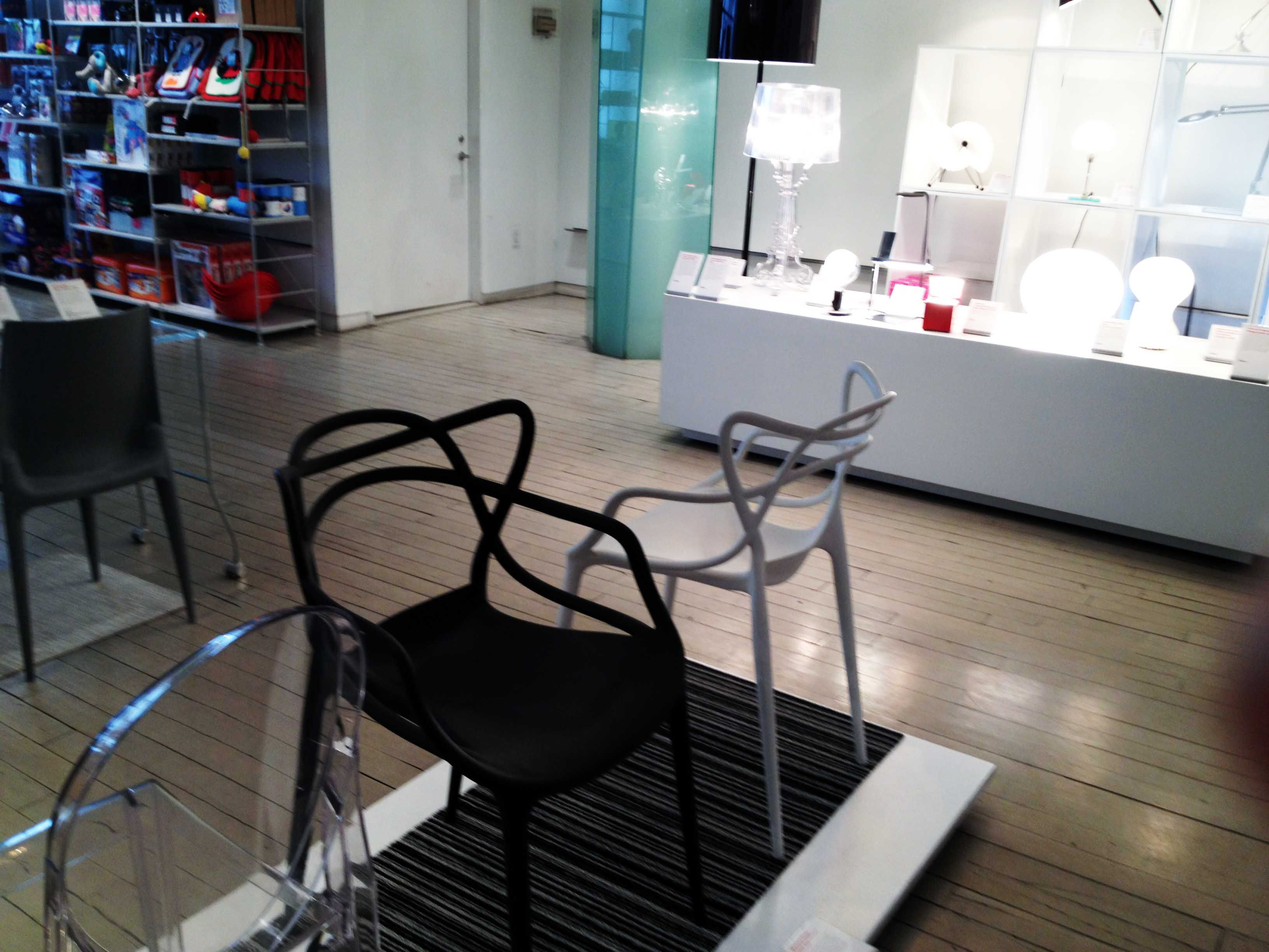 kartell masters chairs at the moma store in nyc we also have them  - kartell masters chairs at the moma store in nyc we also have them at oikos