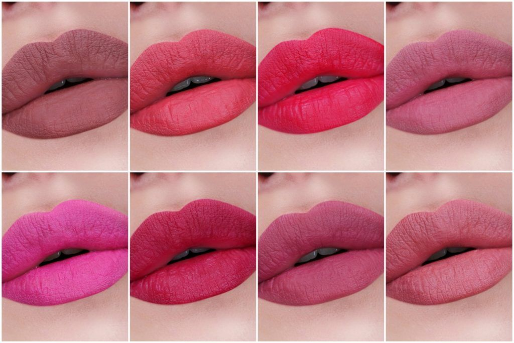 Nyx Professional Makeup Powder Puff Lippie Collection Review The