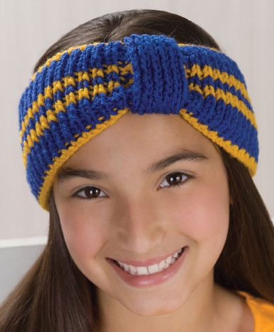 Free Knitting Pattern For Sporty Headband Grace Alexanders Easy