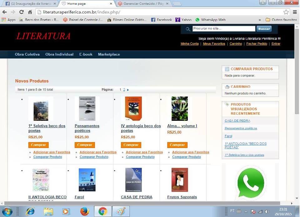 c816f4b4b33dc Maria Bonita e Poesia  Venda seu livro numa livraria virtual em SP ...