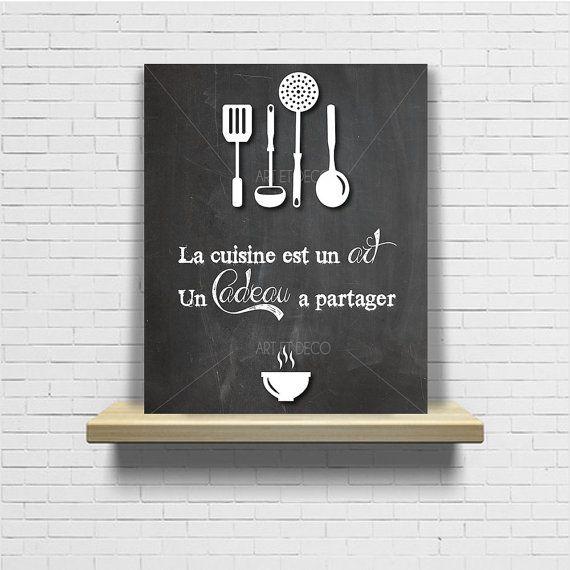 tableau citation cuisine ardoise