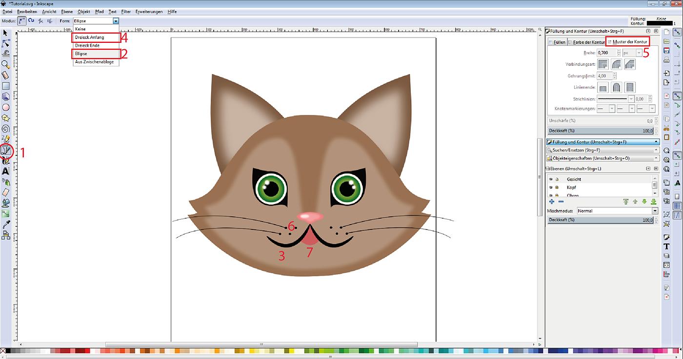 tutorial vektordesign in inkscape erstellen geld verdienen plotten erste hilfe vektorgrafik adobe word