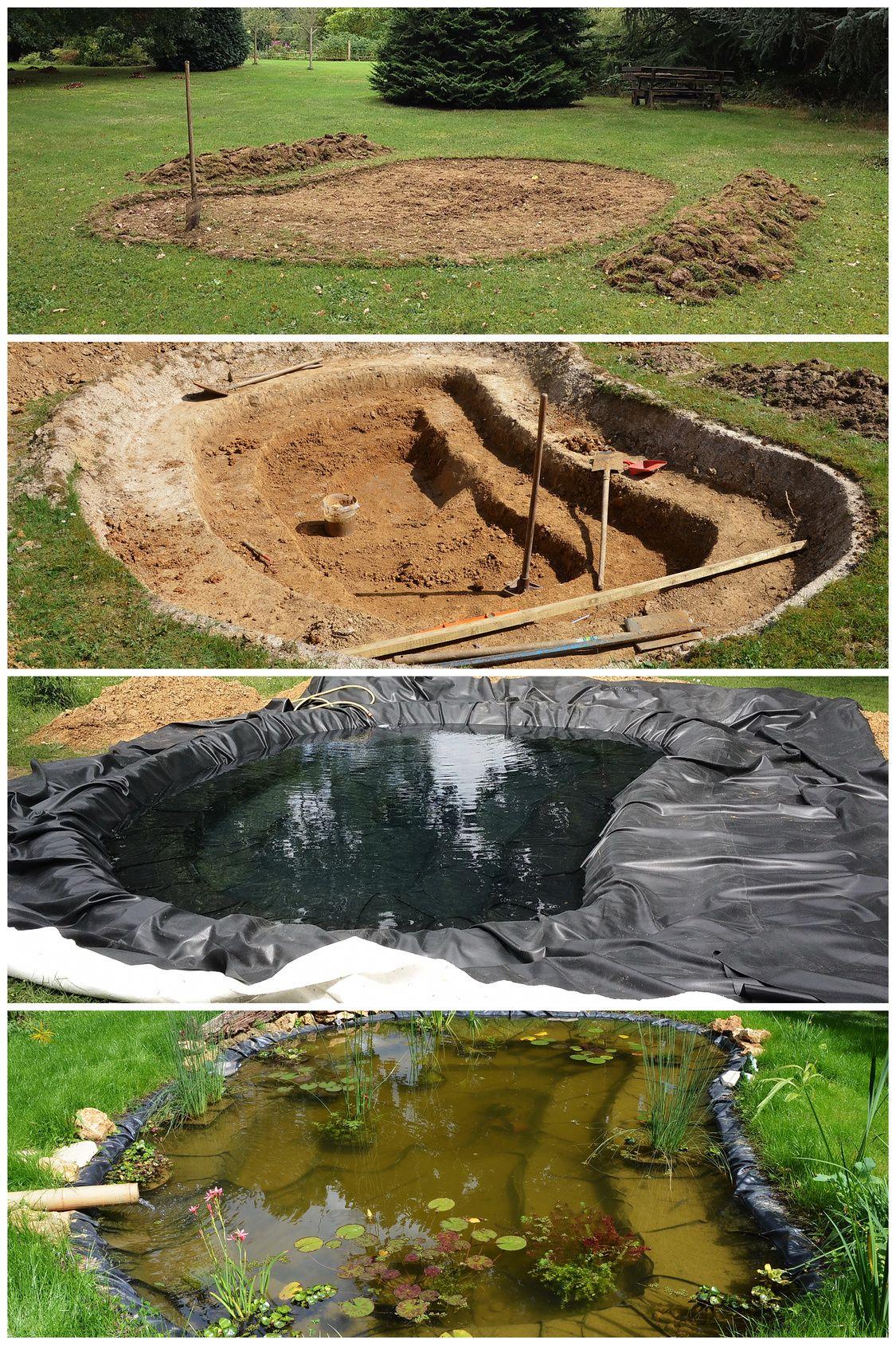 Construire Son Bassin De Jardin construire un bassin de jardin pour poissons | bassin de