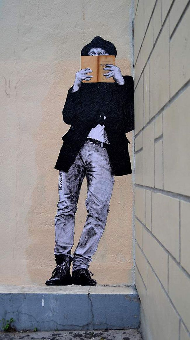 Wandering around the lovely city of Paris, street artist Levalet finds the best spots to glue, install and apply his art. He sees the street as his canvas and as a playground to have fun and to let others enjoy his great ideas. By always incorporating what the specific location offers him, all his pieces [...]