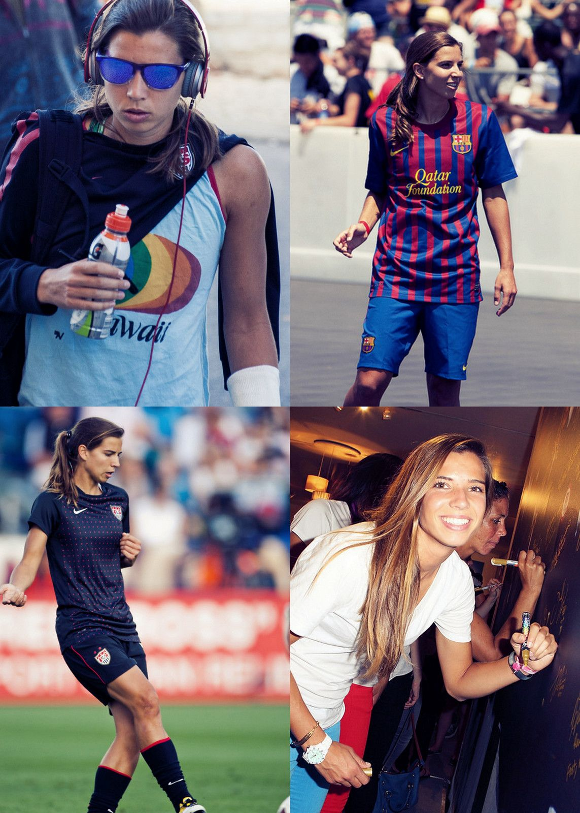 The swag is unmatchable. | Tobin Heath. | Pinterest