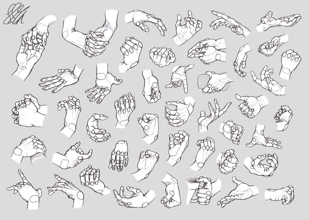 http://www.deviantart.com/art/Hand-Studies-Male-hands-Robotized ...