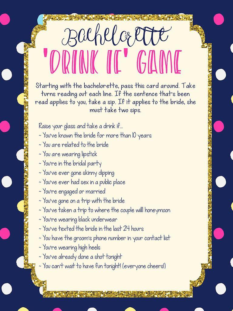 10 Easy (and Fun!) Bachelorette Printables #bachelorettepartyideas