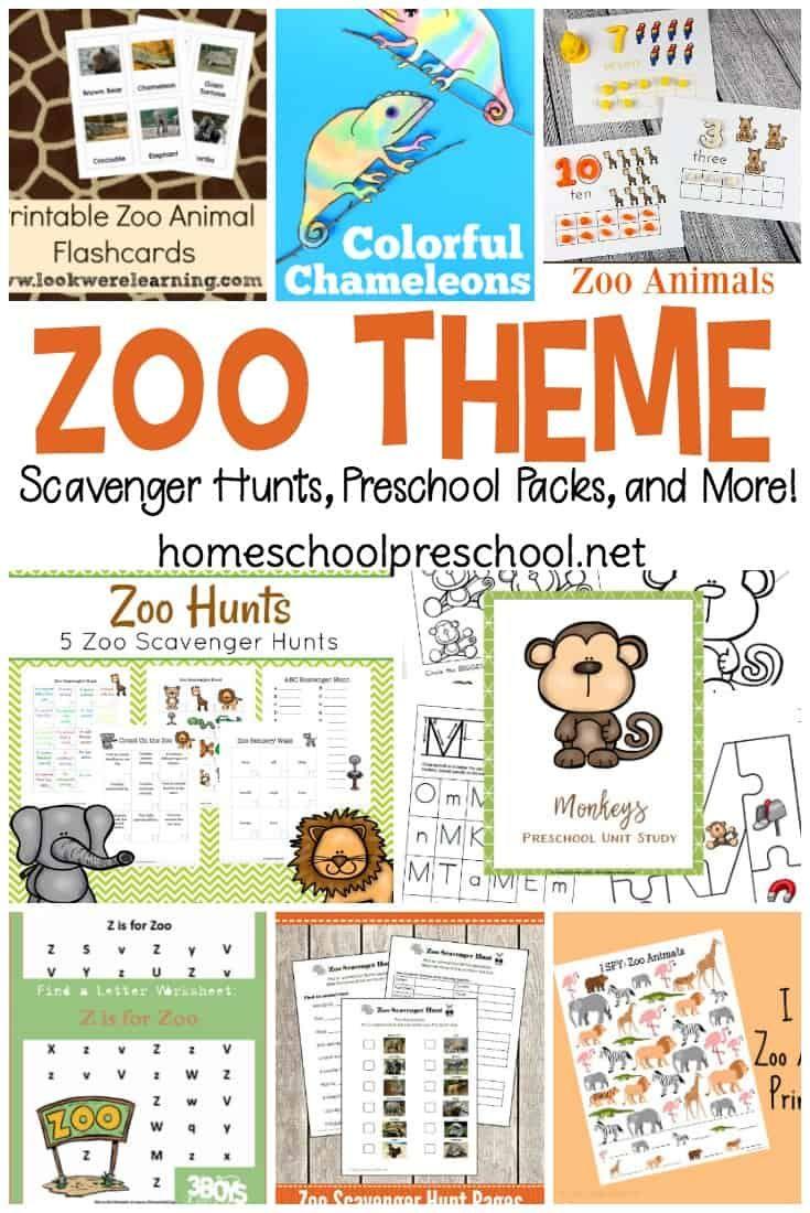 25 Preschool Zoo Printables And Activities Prek Grade 1