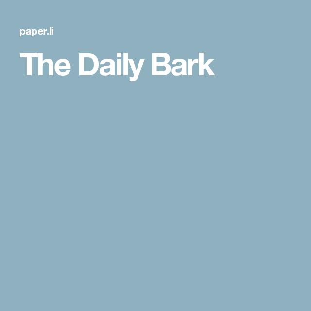 The Daily Bark
