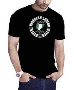 Nigeria Stile Grunge Bandiera-Bambini T-Shirt-nigeriano-Paese Travel-Bandiere