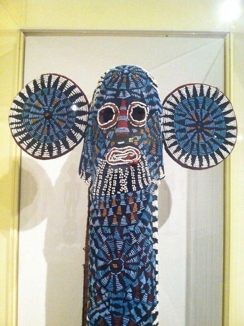 Kuosi Society Elephant Mask, Unidentified Bamileke artist, Cameroon