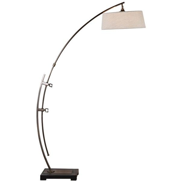Uttermost calogero plated dark bronze arc floor lamp 427 liked calogero modern bronze arc floor lamp by uttermost mozeypictures Gallery