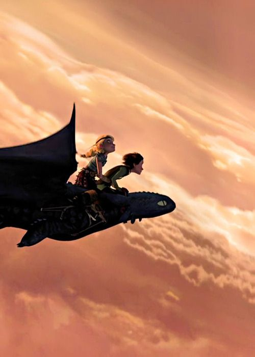 How To Train Your Dragon... If they ever made a real version of this I would want Nicholas Hoult to be Hiccup and Jennifer Lawrence to be Astrid.