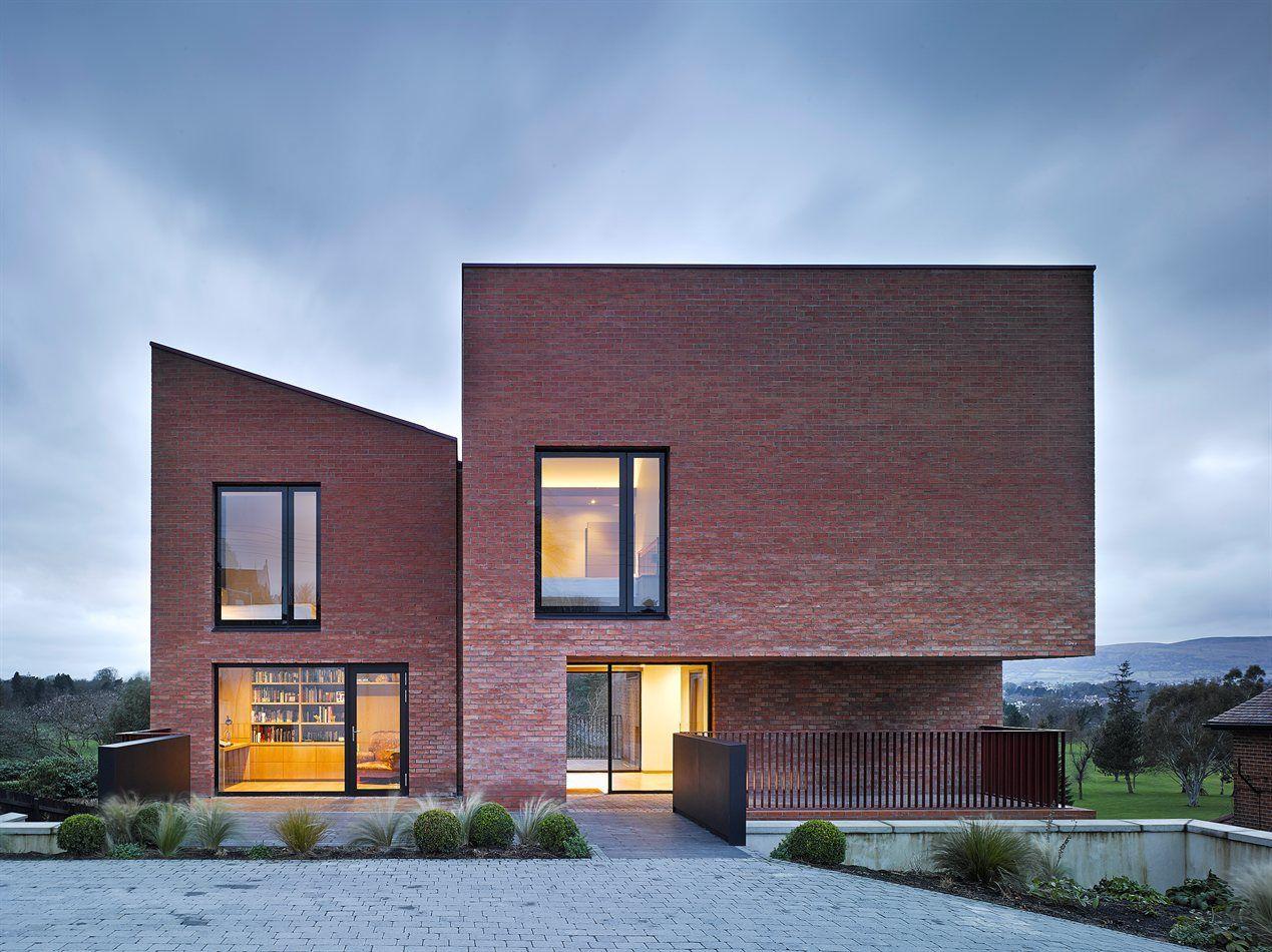 New Build Family House   Brick Volumes   Church Road, Belvoir Park, Belfast    N Ireland   Hall McKnight