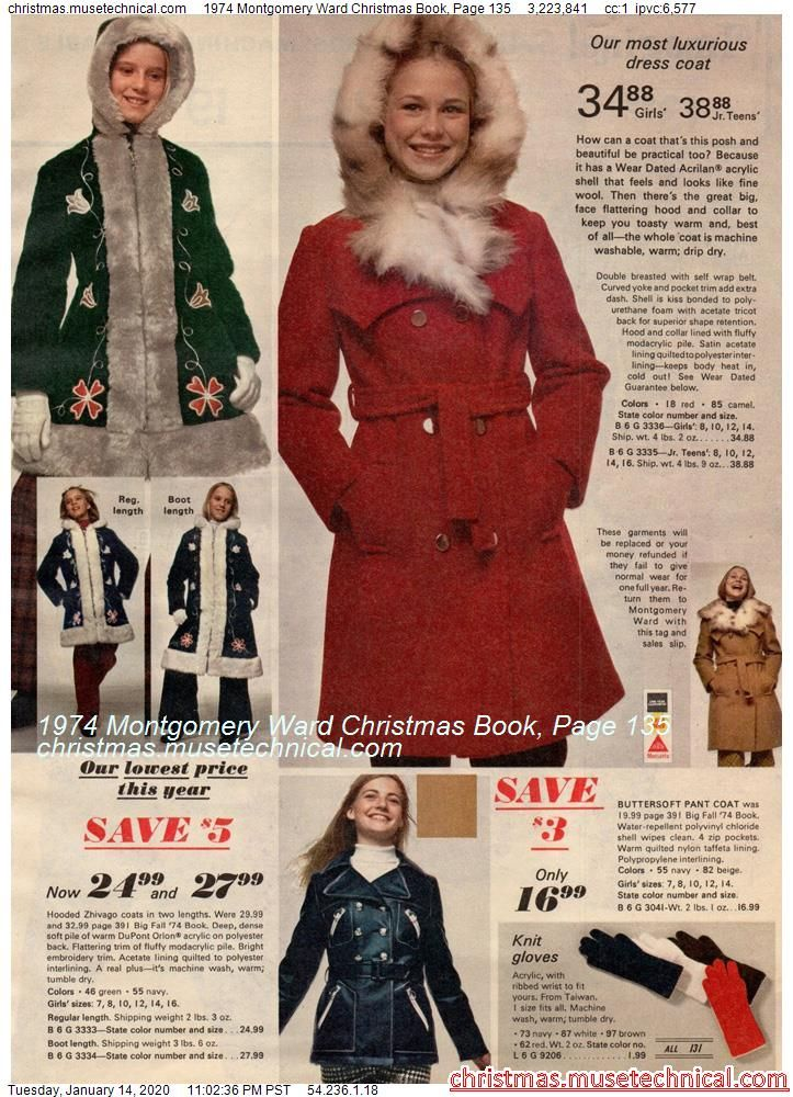 1974 Montgomery Ward Christmas Book, Page 135 - Ch
