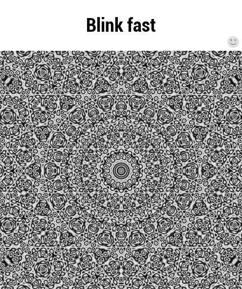 Blink fast lol hugZz ツ Optical illusions, Trippy gif