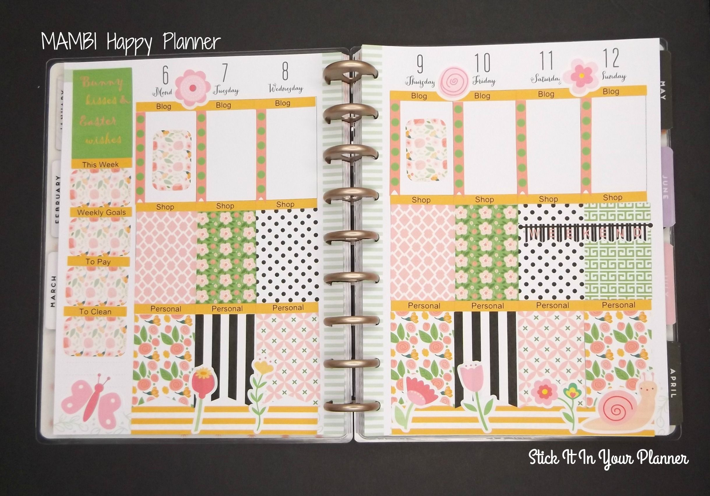 Stick those roses in your planner! Plan With Me Bellarosa  http://buff.ly/2mJCUx0