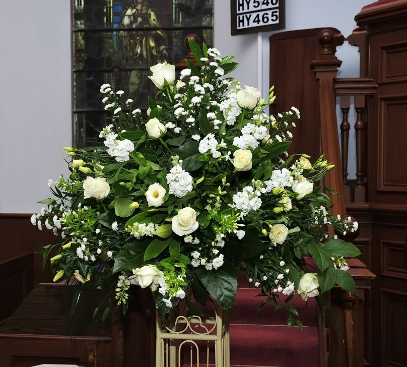 Wedding Floral Arrangements For Church