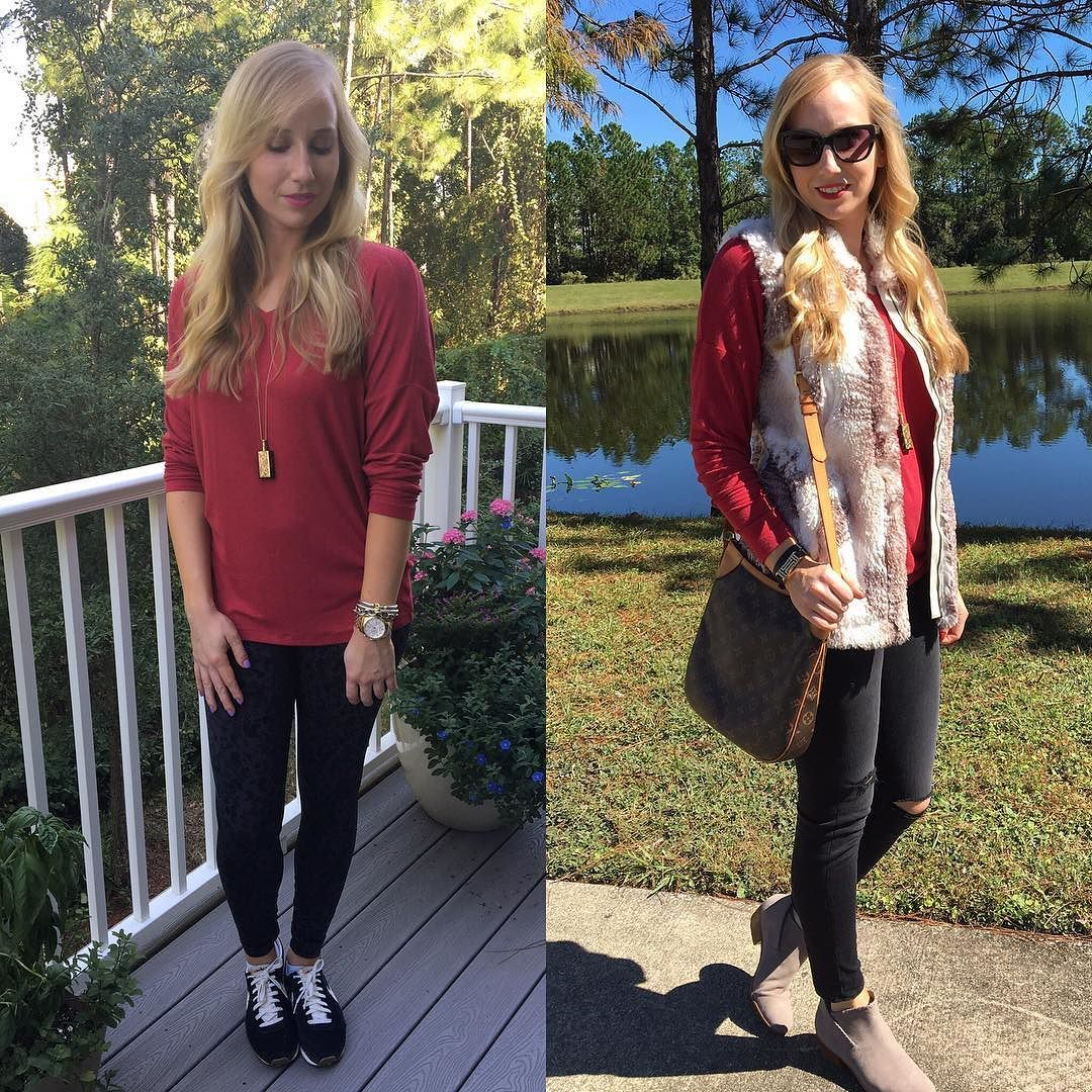 Loving the @cabiclothing #serenitytee so much this season! Details on my outfits on http://ift.tt/2d97hvJ.