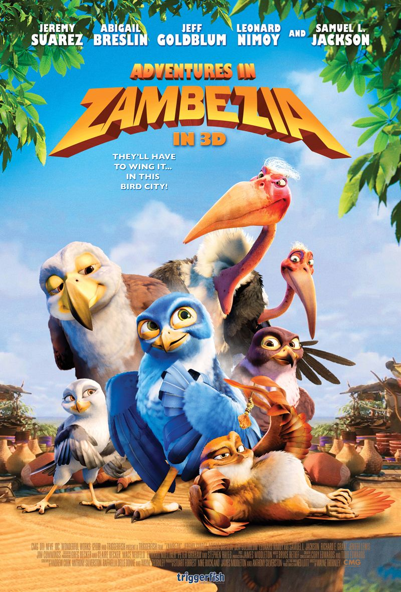 New Arrival Adventures In Zambezia Disney Full Movies Cartoon
