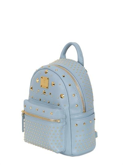 MCM EXTRA MINI STARK LEATHER BACKPACK € 843.00