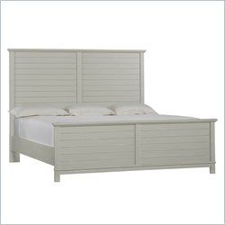 Coastal Living Resort-Cape Comber Panel Bed in Morning Fog - Queen