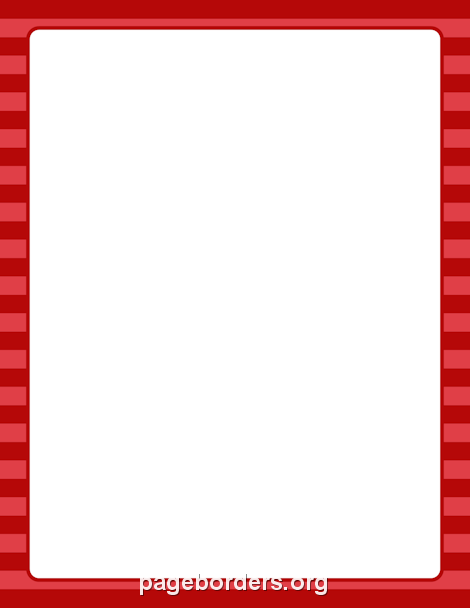 Red Striped Border Clip Art Page Border And Vector Graphics Page Borders Borders For Paper Clip Art