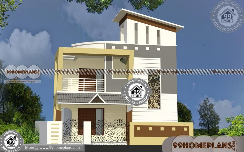 Indian style narrow house designs with  front elevation design best storey small having total bedroom bathroom also images on pinterest in rh