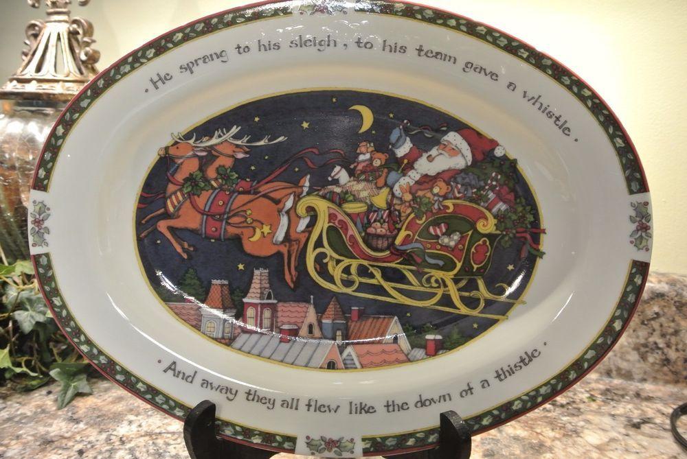 Susan Winget A Christmas Story Large Serving Platter 14 1/2 ...