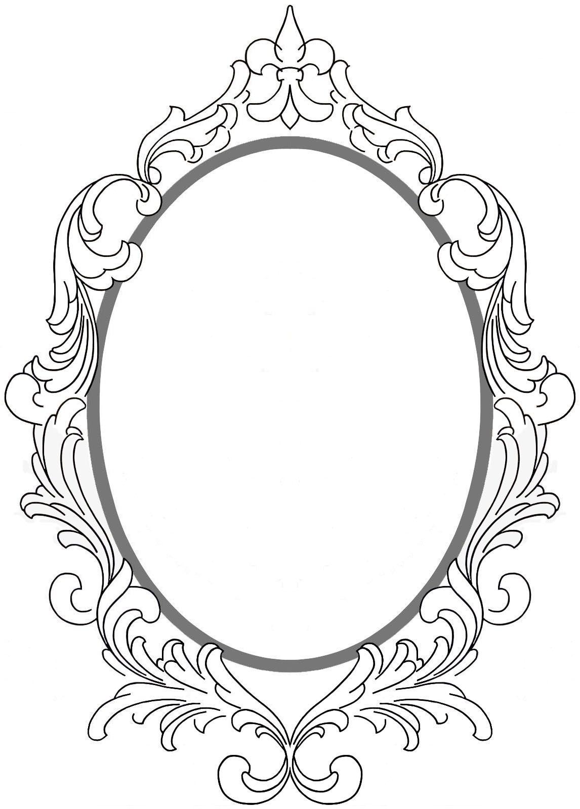Rahmen Vintage Frame Tattoo Framed Tattoo Mirror Tattoos
