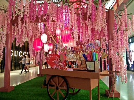 chinese new year 2015 decor in the gardens mall rosalynrawrs kl malaysia