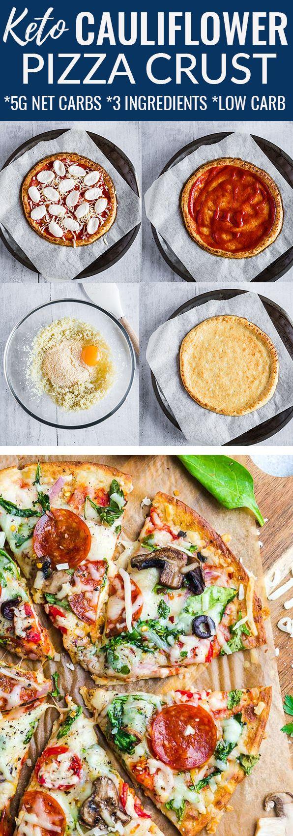 Easy Cauliflower Crust images