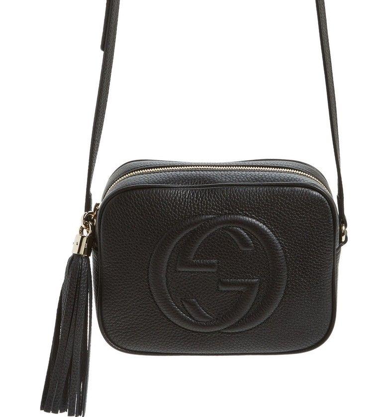 6161d448e Soho Disco Leather Bag, Alternate, color, 1000 Nero   L o v e ...