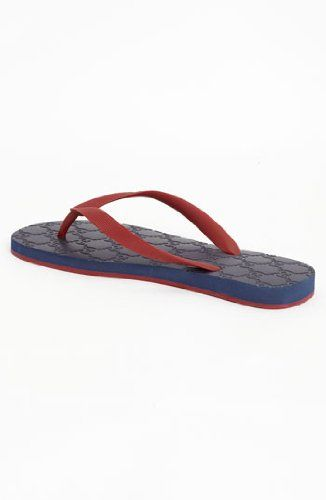 Gucci Mens Flip Flops - Be rugged and classy this summer.