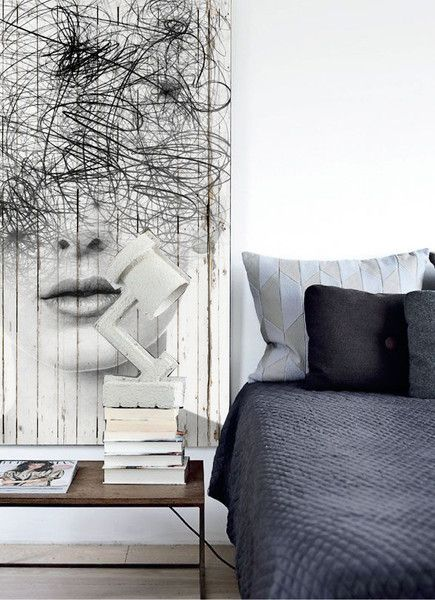 Nobody knows me Murals by Antonio Mora - Art & Design