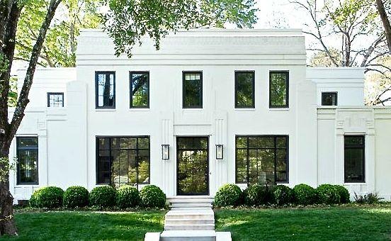 Evans cucich home 1934 granard fasard pinterest raam