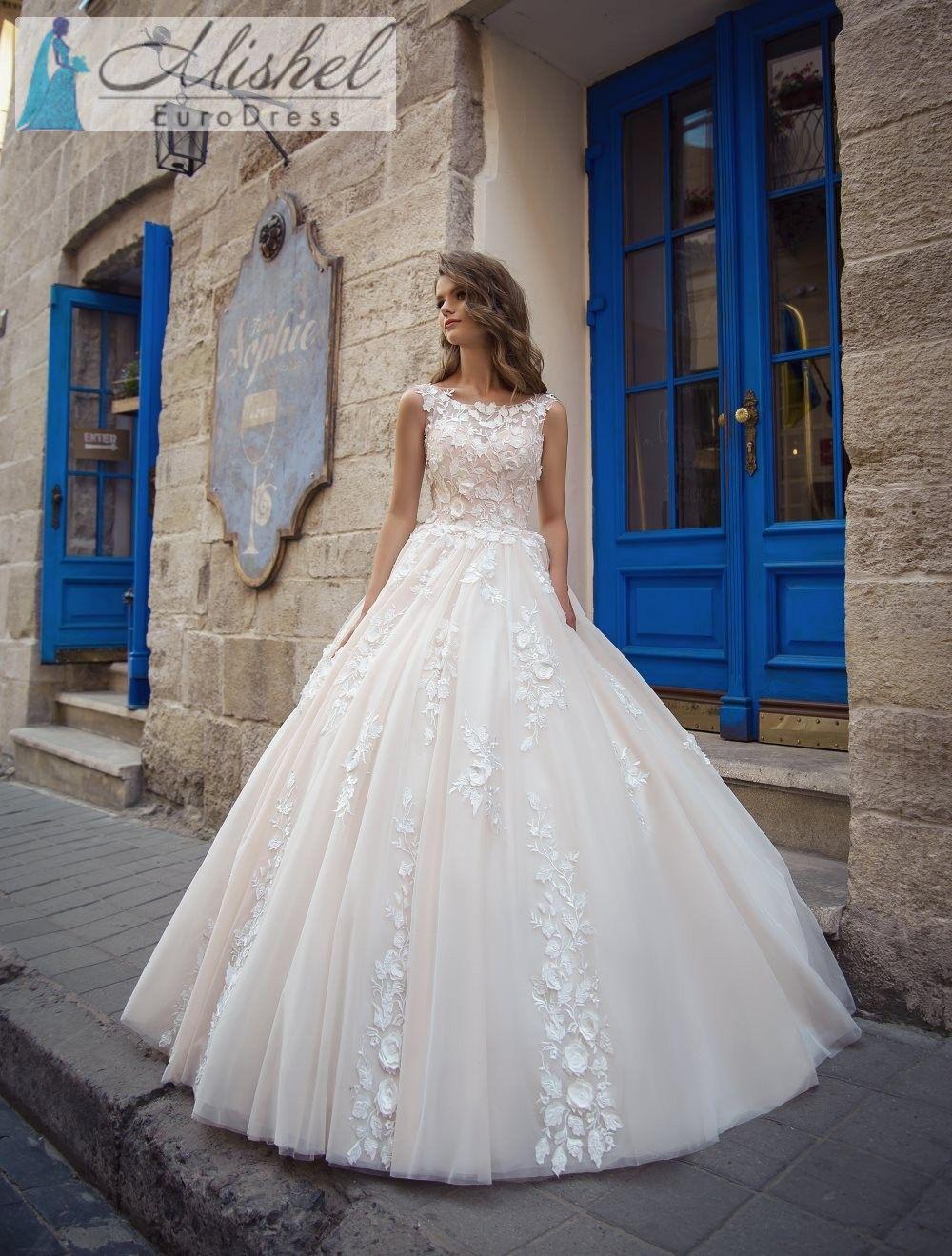Vestido De Novia Sv007 Coleccion Plasencia Hecho En Europa