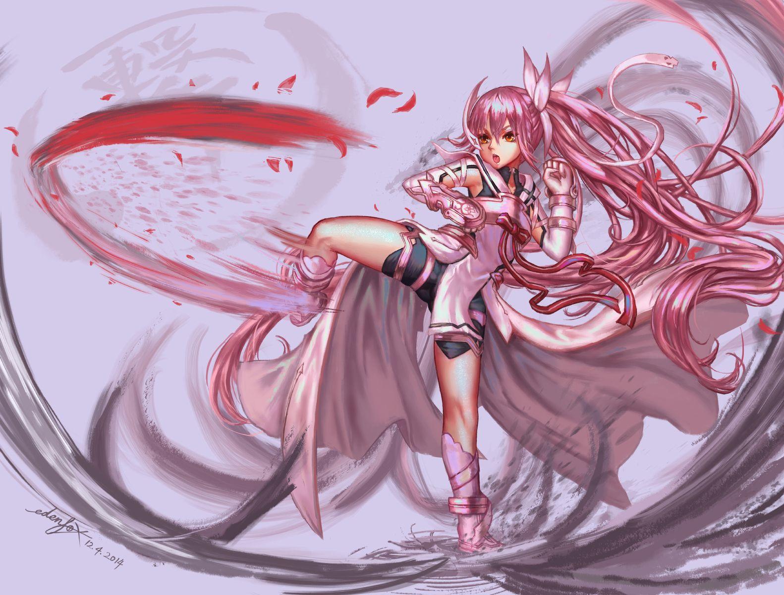 Yuki Yuna By Edenfox Magical Girl Anime Anime Art Fantasy Yuki