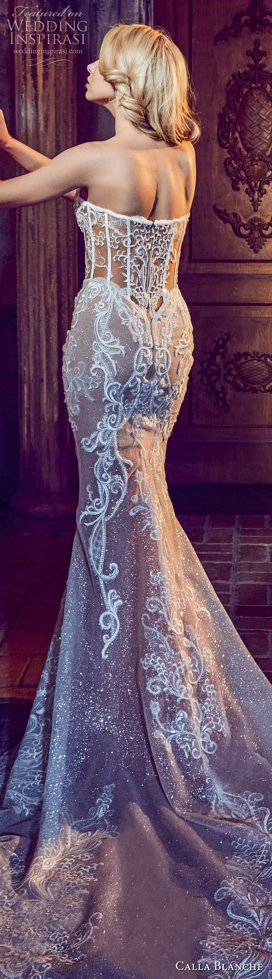 Calla blanche fall wedding dresses mermaid wedding dresses