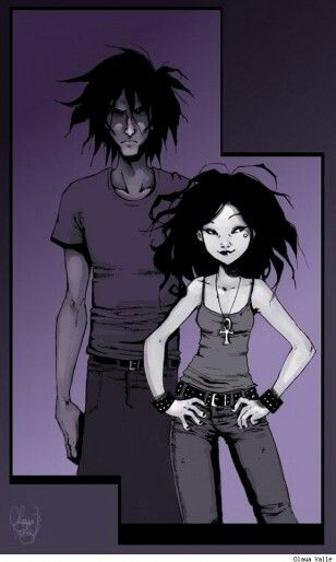 Death and Sandman by Olaya Valle