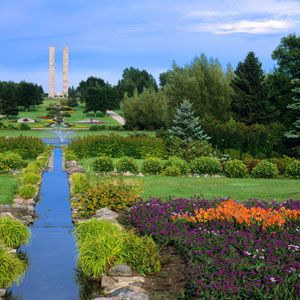 International Peace Garden near Dunseith, North Dakota