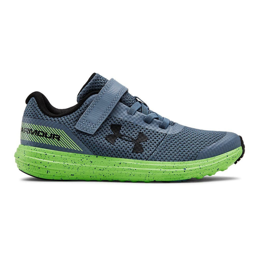 Pre School Under Armour Surge Rn Ac Black 2 Boys Running Shoes Childrens Shoes Under Armour Shoes