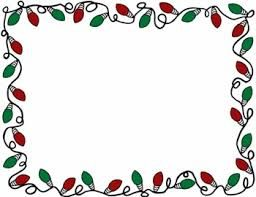 Image Result For Holiday Lights Clipart Border Free Free Christmas Borders Christmas Lights Clipart Clip Art Borders